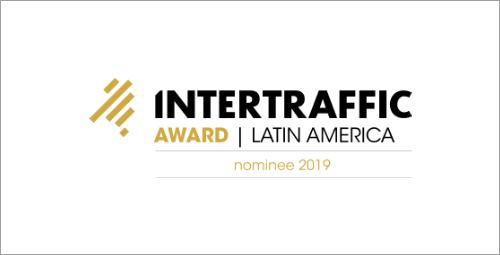 Smart Wim é nomeado por inovação pelo Intertraffic Awards 2019